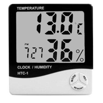 เครื่องวัดอุณหภูมิ ความชื้น รุ่น HTC-1 (สีขาว)