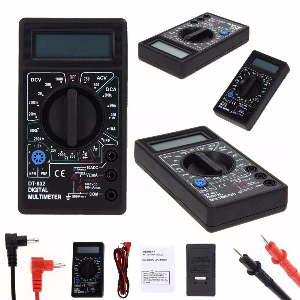 เครื่องวัดไฟฟ้า มัลติมิเตอร์ เครื่องมือวัดไฟฟ้า เครื่องวัดแรงดันไฟฟ้า เครื่องวัดกระแสไฟฟ้า เครื่องวัดความต้านทานไฟฟ้า