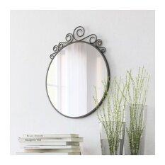 ขาย Ekne กระจกเงา ติดผนัง Mirror 50 60 Cm ดำ เป็นต้นฉบับ