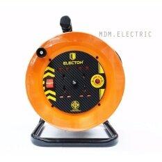 ซื้อ Electon ล้อเก็บสายไฟ Vct 2 2 5 Sq Mm ความยาว 20 เมตร รุ่น Eh3 M2252 Vct 2X2 5 20M Electon ถูก