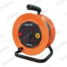 ราคา ราคาถูกที่สุด Electan ล้อเก็บสายไฟคุณภาพสูง Vct 2X1 5 ยาว 15 ม ฟิวส์ 20A รุ่น Eh2 M21515