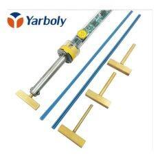 ขาย Electric Temperature Adjustable Soldering Iron 40W T Solder Tip With Free Hot Press For Lcd Screen Flex Cable Repair Intl ถูก