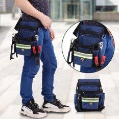 เอวช่างไฟฟ้ากระเป๋าเครื่องมือสะดวกทำงาน Organizer กระเป๋าเข็มขัด - Intl.