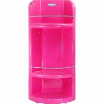 Elegance ชั้นวางของในห้องน้ำ Max Volume 2 in 1 สีชมพู