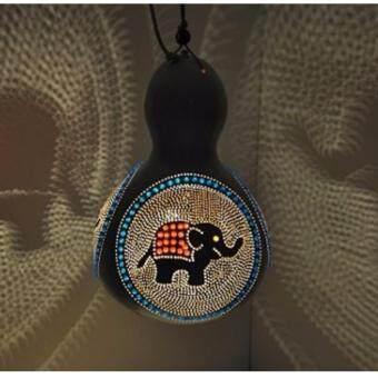 โคมไฟน้ำเต้าตกแต่งเพดาน Elephant