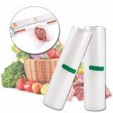 ราคา Elit ถุงซีล ถุงซีลสูญญากาศ ถุงพลาสติกสูญญากาศ ขนาด 25X500Cm Vacuum Bags For Food Storage Vacuum Sealer 2ชิ้น เป็นต้นฉบับ