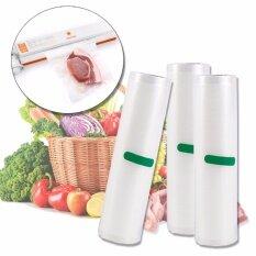 โปรโมชั่น Elit ถุงซีล ถุงซีลสูญญากาศ ถุงพลาสติกสูญญากาศ ขนาด 25X500Cm Vacuum Bags For Food Storage Vacuum Sealer 3 ชิ้น