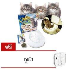 ซื้อ Elit Citikitty ชุดฝึกแมวเข้าห้องน้ำ สำหรับแมวทุกวัย Cat Toilet Trainingรุ่น Ctk20 1As แถมฟรี หูฟัง