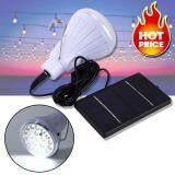 โปรโมชั่น Elit โคมไฟ Led พลังงานแสงอาทิตย์ พร้อมรีโมทคอนโทรล Solar Bulb Dc 6V 20 Led With Remote Control ถูก