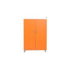 ราคา Enzio ตู้รองเท้า อเนกประสงค์ 2 บานเปิด รุ่น Ws 021 White Orange ใหม่