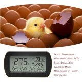 ราคา Era Lcd Display Egg Incubator Thermometer Hygrometer Meter Of Humidity Temperature Black Intl ใหม่ล่าสุด