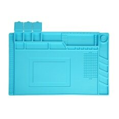 Era S 160 Magnetic Heat Resistant Soldering Mat Soldering Station Insulation Pad Blue Intl ถูก