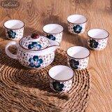 ราคา Esogoal 7 Pcs Rainbow Colors ชุดชาจีน สำหรับชงชาและเตาไฟฟ้า ครบเซต สำหรับ 7 ท่าน รวมอุปกรณ์ 7 ชิ้น Esogoal เป็นต้นฉบับ