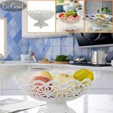 ผลไม้ Esogoal แผ่น 2 ชั้นกลวงสำหรับเค้กผลไม้ขนมหวานบุฟเฟ่ต์สำหรับงานปาร์ตี้และงานปาร์ตี้ ถูก
