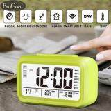 ราคา Esogoal นาฬิกาปลุกตั้งโต๊ะ นาฬิกาปลุกเรื่องแสง นาฬิกาปลุก สีขาว Led Smart Digital Alarm Clock Green Intl จีน