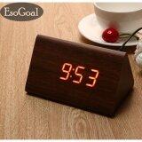 ส่วนลด Esogoal นาฬิกาปลุกตั้งโต๊ะ นาฬิกาปลุกเรื่องแสง นาฬิกาปลุก สีขาว Led Smart Digital Alarm Clock Rose Intl จีน