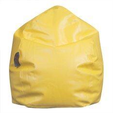 ราคา Esupersave เก้าอี้ Beanbag ทรงหยดน้ำ Ø80 ซม สีเหลือง ออนไลน์ Thailand
