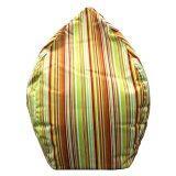 ซื้อ Esupersave เก้าอี้ Beanbag ทรงหยดน้ำ Ø80 ซม ลายริ้วเขียวส้ม ใหม่ล่าสุด