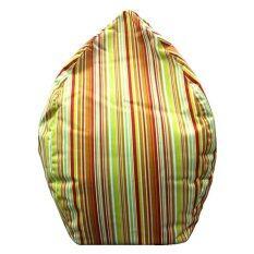ราคา Esupersave เก้าอี้ Beanbag ทรงหยดน้ำ Ø80 ซม ลายริ้วเขียวส้ม Esupersave สมุทรปราการ