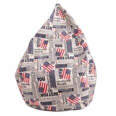 ขาย Esupersave เก้าอี้ Beanbag ทรงหยดน้ำ Ø80 ซม ลายธงชาติอเมริกา Esupersave ออนไลน์