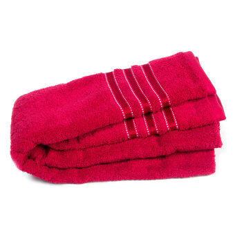 เทสโก้ ผ้าขนหนู DB 27x54 สีแดง