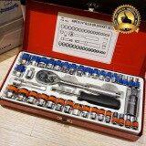 ทบทวน ที่สุด Euro King Tools ชุดเครื่องมือ ประแจ ชุดบล็อก 40 ชิ้น ขนาด 1 4 และ 3 8