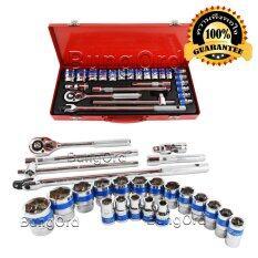 ราคา Euro King Tools ชุดบล็อค 24 ชิ้น แกน 1 2 10 32 มม ใหม่ล่าสุด