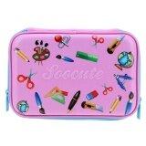 ราคา Eva Cute Stationery Pattern Large Capacity Pencil Case Pink Intl ถูก
