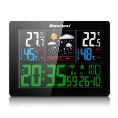 ซื้อ Excelvan Color Wireless Weather Station With Forecast Temperature Humidity Intl