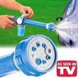 โปรโมชั่น Ez Jet Water Cannon ปืนฉีดน้ำ หัวฉีดน้ำอเนกประสงค์ สีฟ้า ปรับระดับ 8 แรงดัน ถูก
