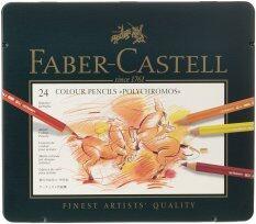 ราคา Faber Castel 24 Piece Polychromous Colored Pencil Set In Metal Tin Others ออนไลน์
