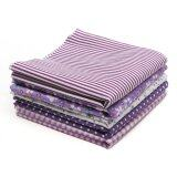 ราคา Fabric Cotton Bundles Fat Quarters Polycotton Material Florals Gingham Spots Purple Intl ถูก