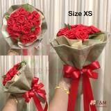 ซื้อ F Mros E Handmade ช่อดอกไม้ ช่อดอกกุหลาบ ช่อดอกไม้เจ้าสาว ไซด์ Xs ออนไลน์