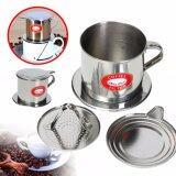 ราคา Fancyqube Stainless Steel Vietnamese Drip Coffee Filter Maker Pot Infuser For For Office Home Traveling Intl Fancyqube ออนไลน์
