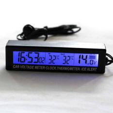 ซื้อ ฝาง 3ใน1 รถอัตโนมัติแรงดันไฟฟ้าเครื่องวัดอุณหภูมิอุณหภูมิดิจิตอลแอลซีดีมอนิเตอร์นาฬิกาวัด แบบสี ใน จีน