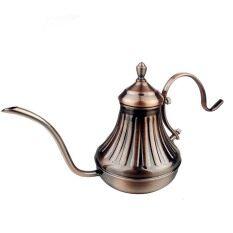 ราคา ราคาถูกที่สุด แฟชั่นการออกแบบหม้อชงชากาแฟสเตนเลสลาเต้คาปูชิโน 420 มล