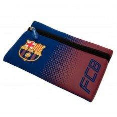 Fc Barcelona ถุงใส่ดินสอและอุปกรณ์เครื่องเขียน บาร์เซโลน่า สกรีนตราสโมสรฟุตบอล บาร์ซ่า Fcb.