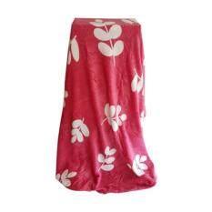 ราคา Fd Premium ผ้าห่ม ผ้าคลุม ผ้านาโน ขนาด 5 ฟุต แบบมีกระเป๋า รุ่น Nba094 ลายการ์ตูน สี ชมพูโอรส ใหม่ ถูก
