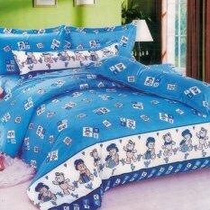 ซื้อ Fd Premium ผ้าห่ม ผ้านวม Blanket ขนาด180X200 รุ่น Ba228 ลายการ์ตูนหมีน้อย สีฟ้า Fd Premium ออนไลน์