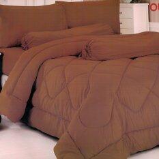 ขาย Fd Premium ชุดเครื่องนอน ผ้าปูที่นอน ขนาด 6ฟุต 5 ชื้น รุ่น 6Aa133 สี น้ำตาล ใน กรุงเทพมหานคร