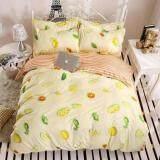 ขาย ซื้อ Fd Premium ผ้าปูที่นอน 3 5ฟุต 3ชิ้น รุ่น 3Aa207 ลายผลไม้ สี ครีม ส้ม กรุงเทพมหานคร