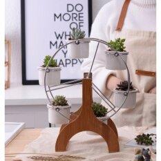 ขาย กระถางต้นไม้ ชุดกระถางต้นไม้พร้อมชิงช้า Ferris Wheel Flower Pot ถูก