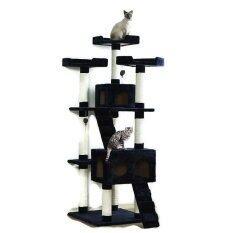 ขาย Fidea Baron คอนโดแมว Cat Tower ไซส์ใหญ่ 185Cm Cat House แถมฟรีน้ำทำความสะอาด Pulire ถูก