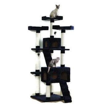 Fidea Baron คอนโดแมว Cat Tower ไซส์ใหญ่ 185cm Cat House แถมฟรีน้ำทำความสะอาด pulire