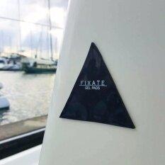 ซื้อ Fixate Gel Pad Pu แผ่นเจลยึดติดเอนกประสงค์ สามเหลี่ยมดำ 3 แผ่น No Brand เป็นต้นฉบับ