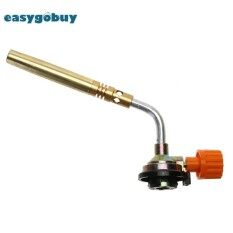 Flamethrower Burner Gas Blow Torch Ignition Camping Welding Bbq Tool - Intl.
