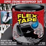 ซื้อ เทปกาวมหัศจรรย์ Flex Tape 4 นิ้ว สีดำ ถูก ใน กรุงเทพมหานคร