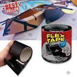 โปรโมชั่น Flex Tape เทปกาวอเนกประสงค์ ปิดรอยรั่ว เทปกาวมหัศจรรย์ เทปกาวกันน้ำ แรงยึดสูง หน้ากว้าง 4นิ้ว Seal Waterproof Strong Rubberized Fusing Wire Pipe Repair Elit ใหม่ล่าสุด
