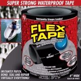 โปรโมชั่น Flex Tape เทปกาวอเนกประสงค์ เทปกาวอุดรอยรั่ว เทปกาวที่ดีที่สุด เหนียว แน่น คงทน ไซส์ M กว้าง 4 นิ้ว ถูก