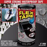 โปรโมชั่น Flex Tape เทปกาวมหัศจรรย์ แปะ เชื่อม ซีล ซ่อมแซมติดได้ทุกรอยรั่ว กันน้ำ เหนียวติดทนนานด้วยวัสดุจาก Usa สินค้าคุณภาพ ของแท้ 100 รุ่นไซต์ใหญ่ 8 นิ้ว X 5 ฟุต
